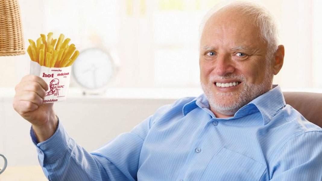 Singurul om care şi-a primit şi cartofii în comanda de la KFC zice că sunt nasoi