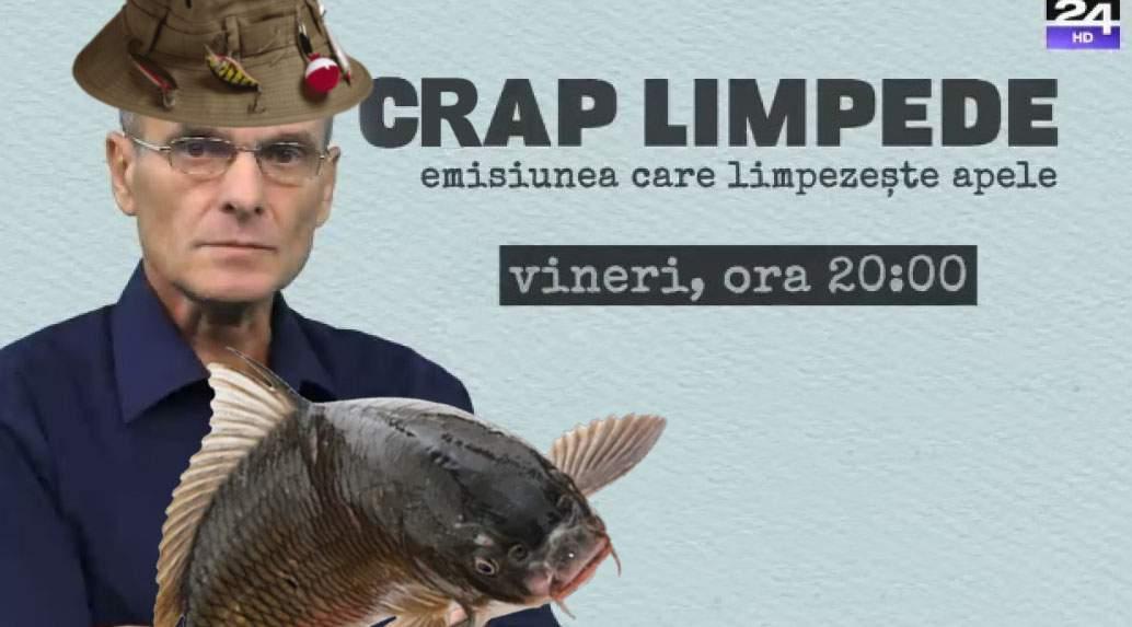 """CTP va prezenta o nouă emisiune de pescuit, """"Crap Limpede"""""""