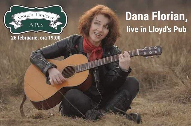 Dana Florian, live în Lloyd's Pub