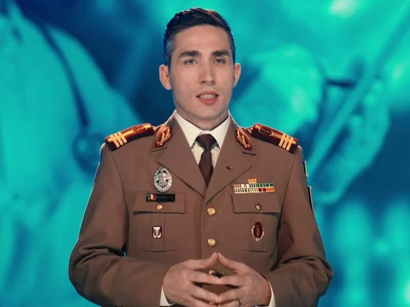 """Colonelul Gheorghiță Pristanda: """"Pe onoarea mea, am vaccinat 2 milioane în cap!"""""""