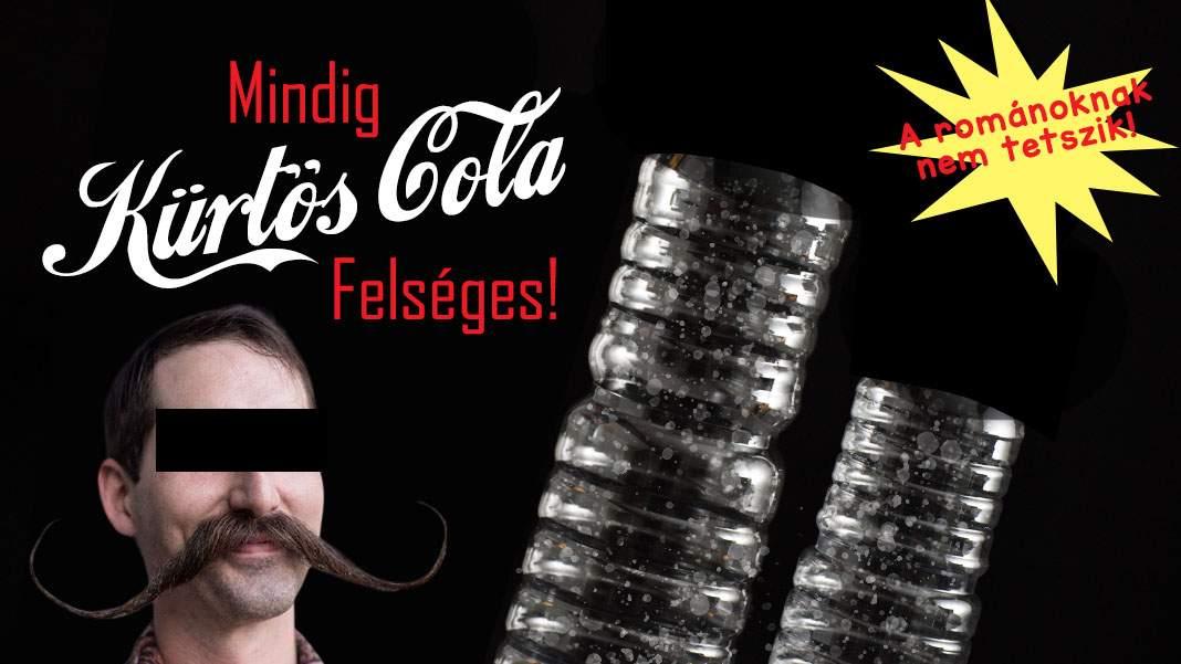 A apărut Kürtős Cola, un PET gol presărat cu zahăr și nucă