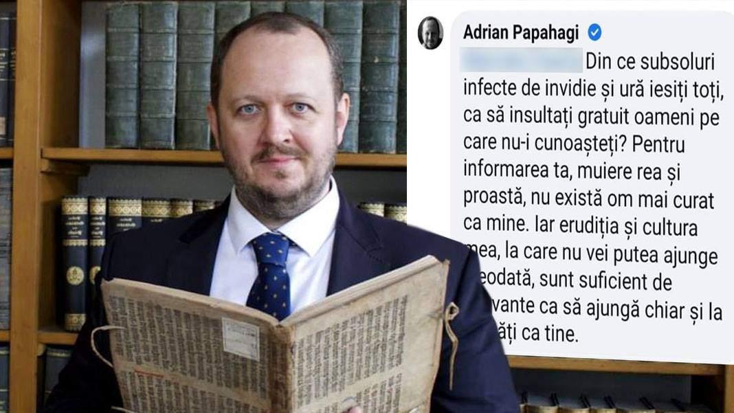 Adrian Papahagi e hotărît să dea burta jos, că deja nu-şi mai vede erudiţia