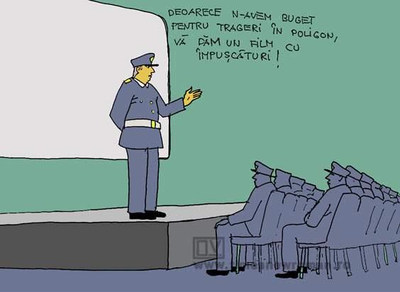 Antrenament la poliție