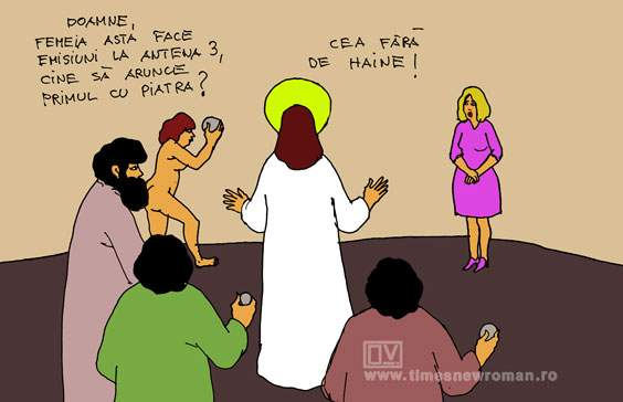 Iisus la Antena 3