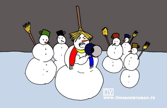 Șoșoaca de zăpadă