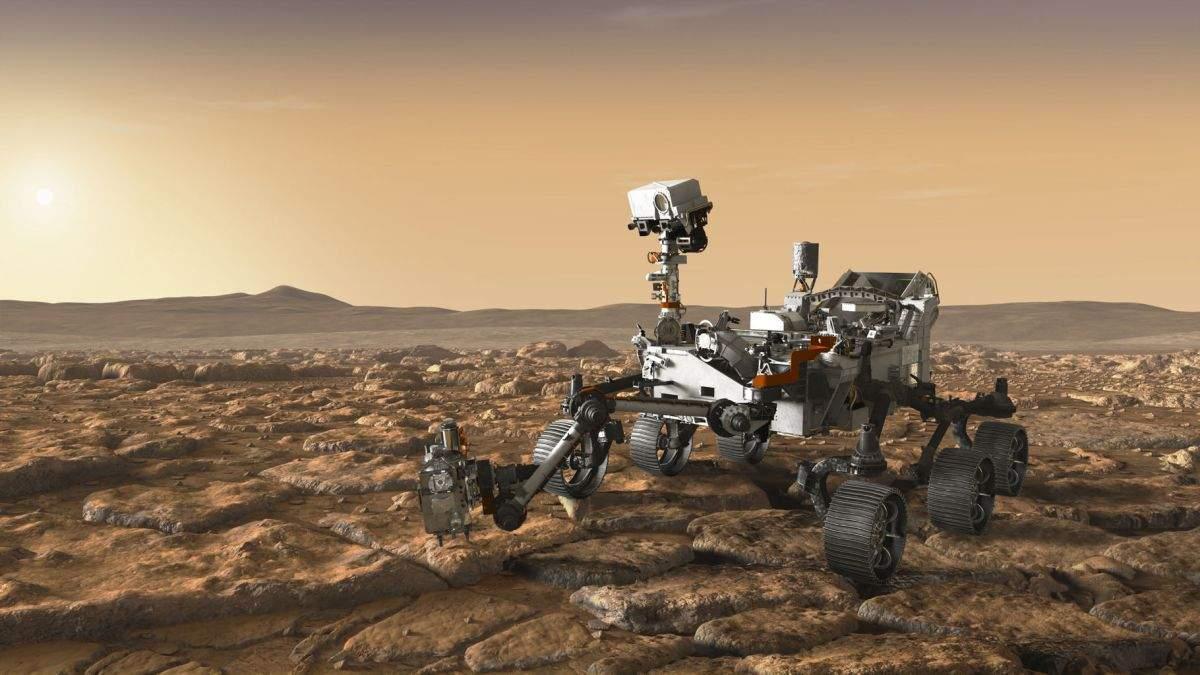 Robotul Cufuriosity caută în disperare un tufiş pe Marte
