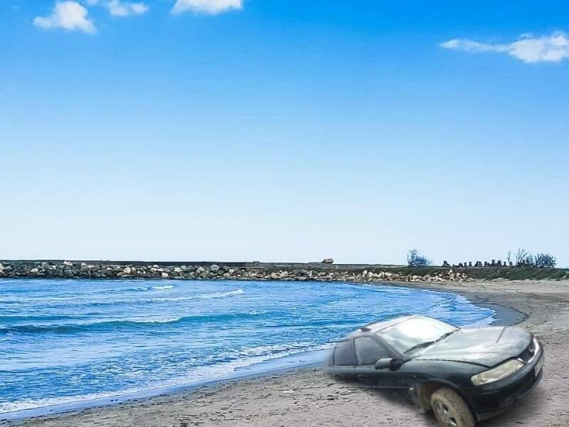 Epava antică de la Mamaia a fost identificată. E un Opel Vectra din 1992