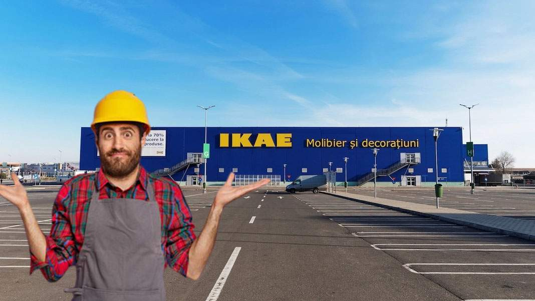 Timișoara va avea primul magazin IKAE, după ce au montat greșit literele din siglă