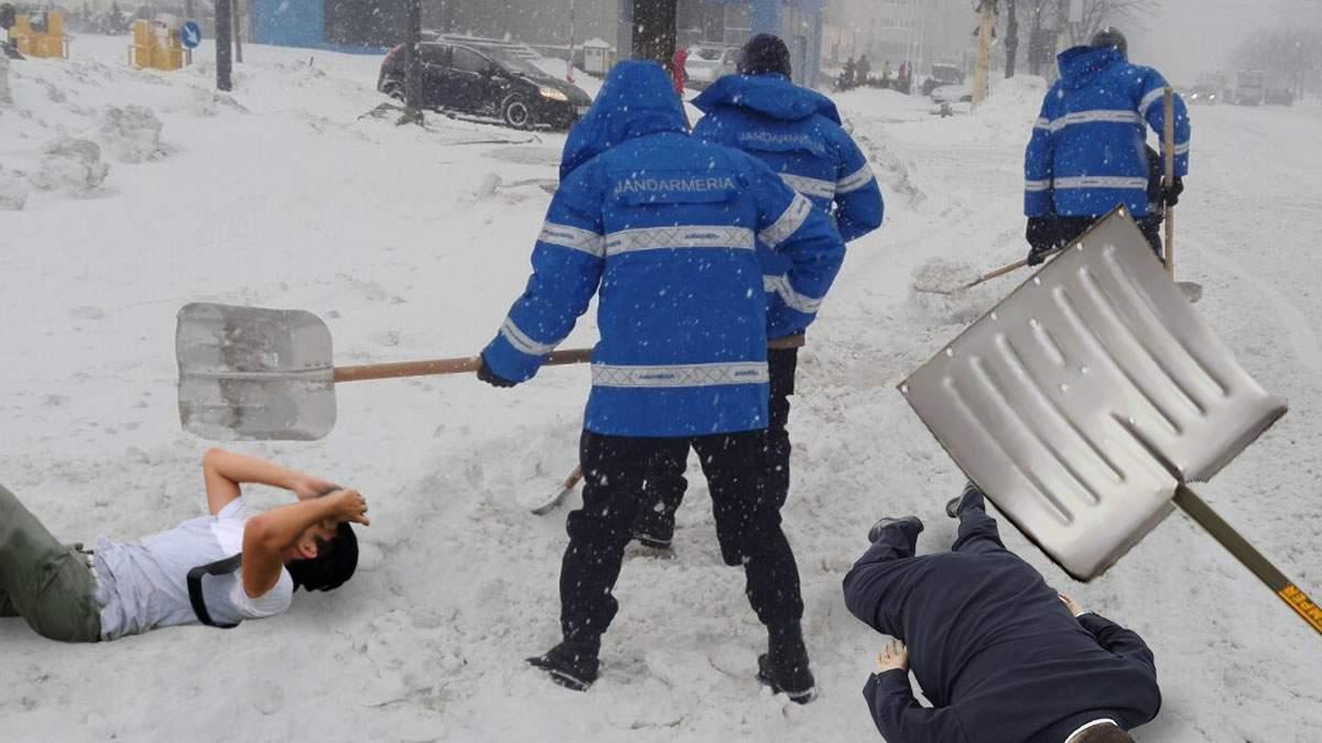 Ninge! Jandarmii pun mâna pe lopeți, dar tot ca să ne bată