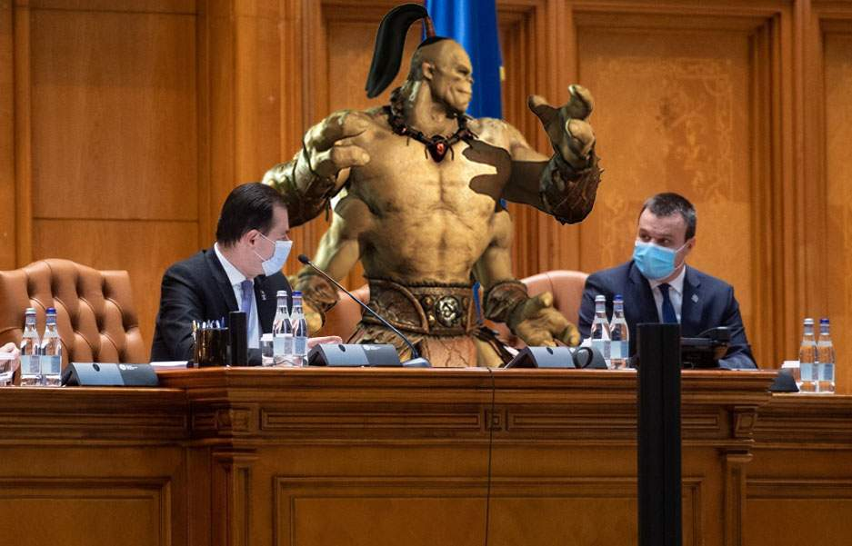 Parlamentarul Goro de la UDMR, prins votând la patru mâini!