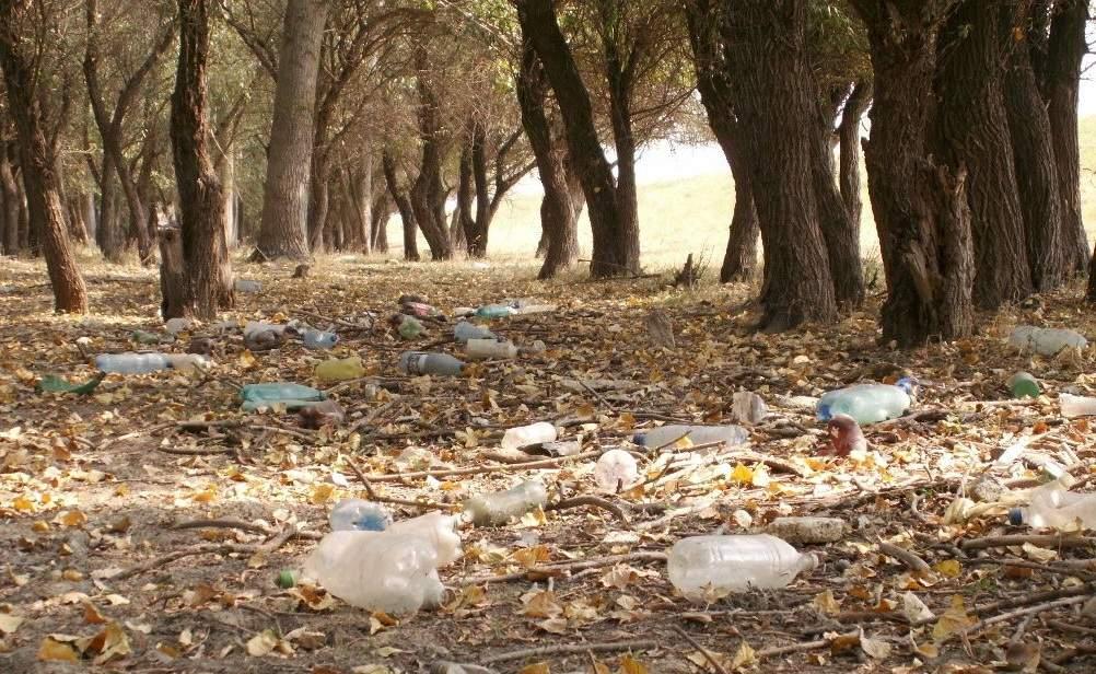 Muntele Athos, plin de PET-uri de apă sfinţită lăsate de pelerini