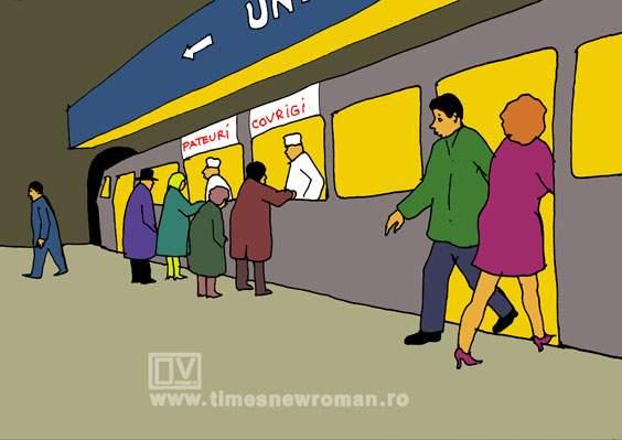 Soluție la metrou