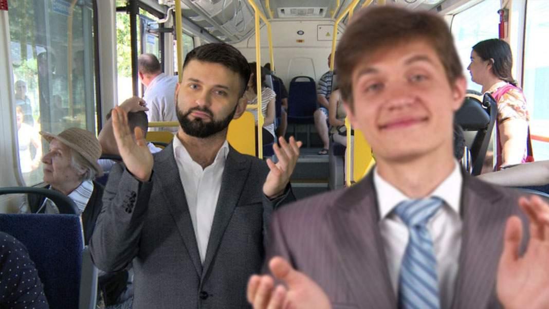 Le lipsesc zborurile! Pasagerii unui autobuz au aplaudat frenetic când șoferul a parcat în stație
