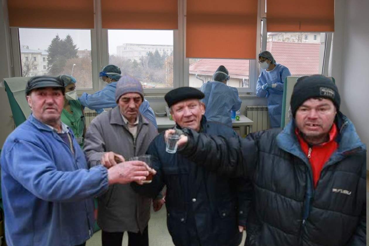 Românii vaccinați cu AstraZeneca vor primi la rapel o țuică, pentru curaj