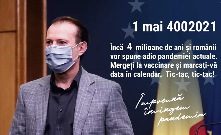 Veşti bune! România ar putea atinge cota de 70% vaccinaţi în 4 milioane de ani (P)