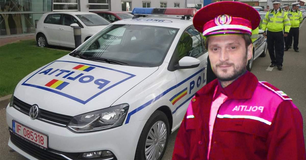Noi detalii despre polițistul pensat. Fusese sancționat că venea cu uniformă roz