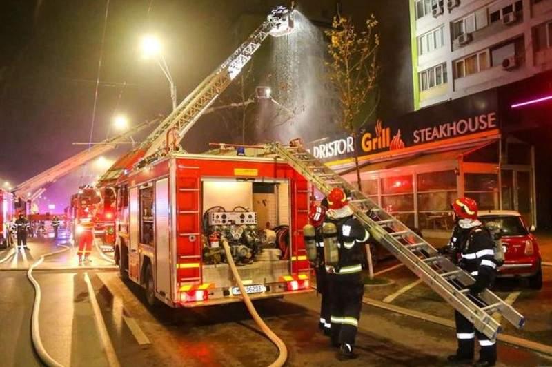 Pompierii au intervenit greu la Dristor din cauza polițiștilor care stăteau la coadă