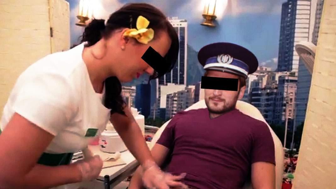 """Șeful polițistului prins la pensat: """"Cum termin epilatul inghinal îl dau  afară!"""""""