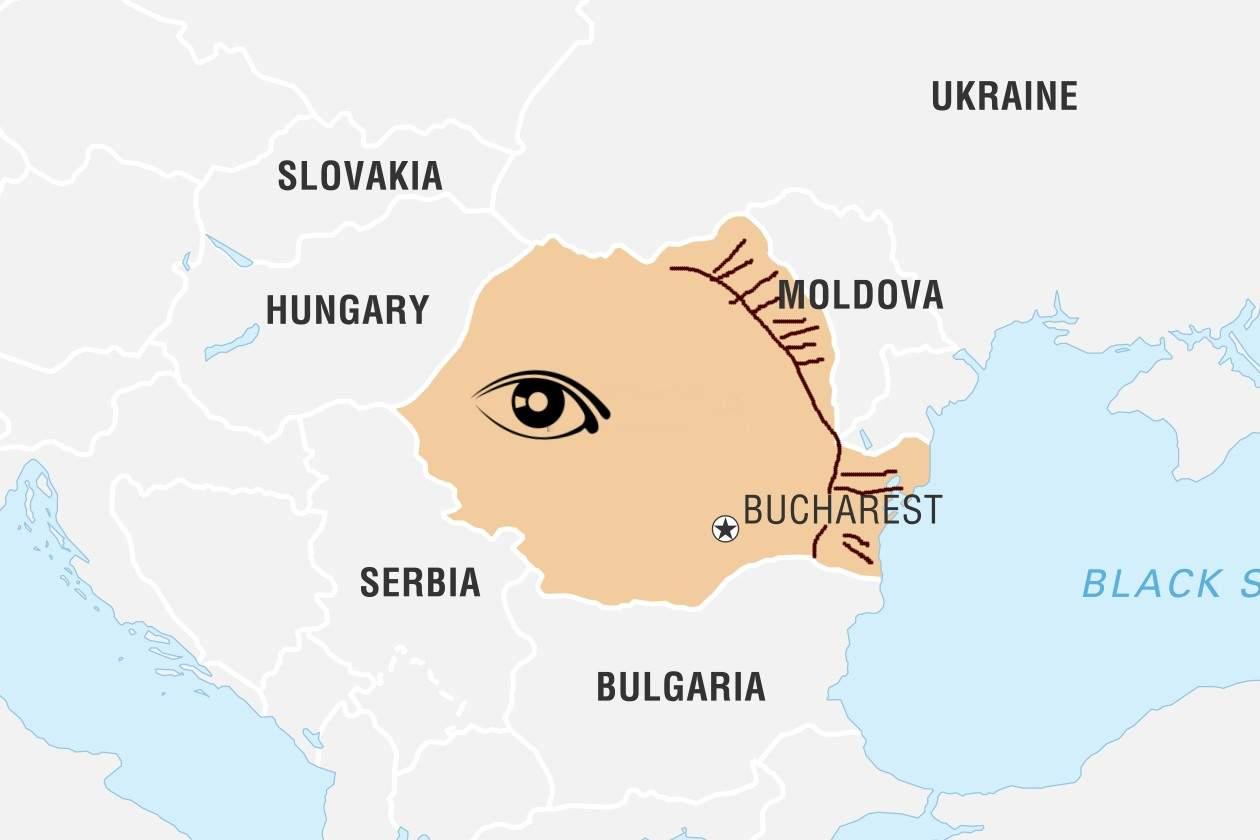 România, pe primul loc în lume la țări în formă de pește