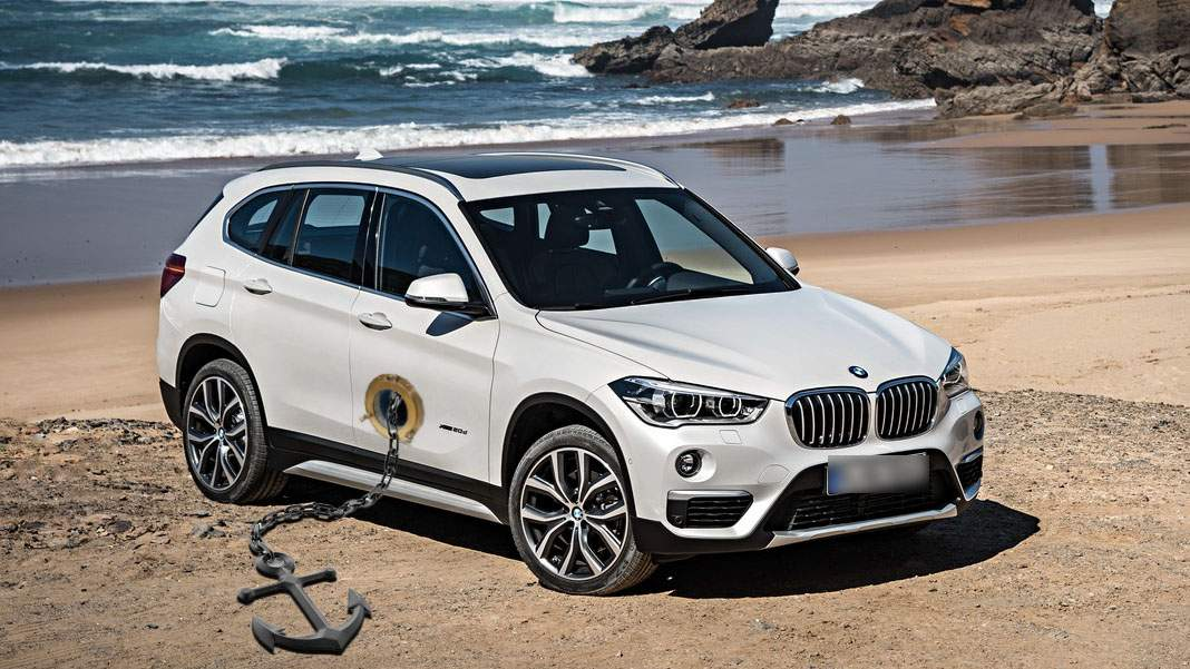 BMW lansează versiunea cu ancoră pentru șoferii iubitori de litoral