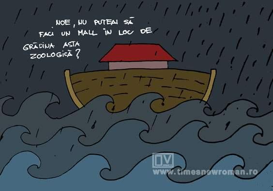 Fițe în timpul potopului