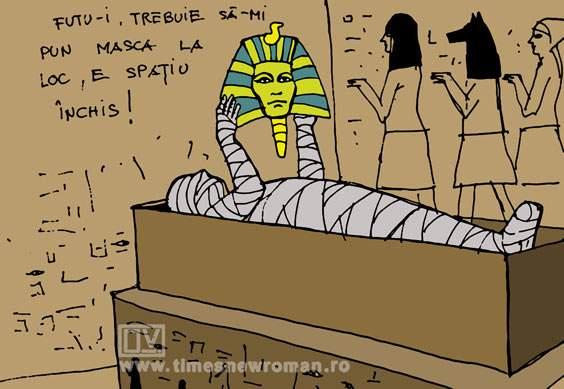 Mumia ghinionistă