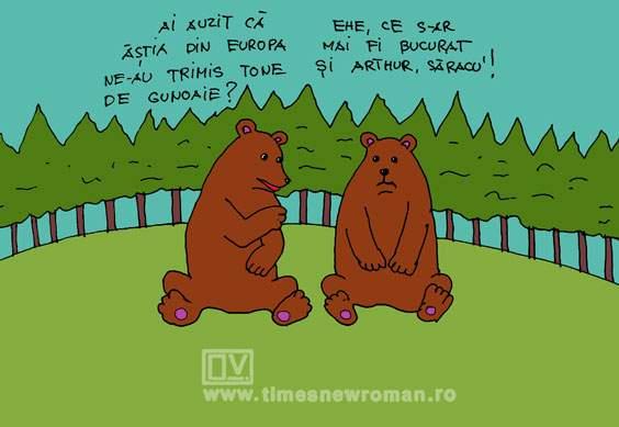 Veste bună în pădure