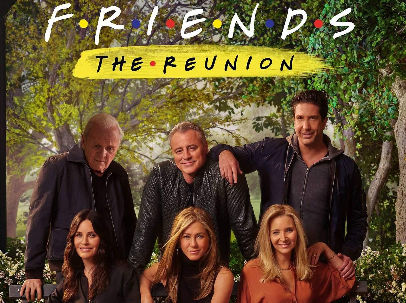Oficial. Rolul lui Chandler din Friends Reuniunea va fi jucat de Anthony Hopkins!
