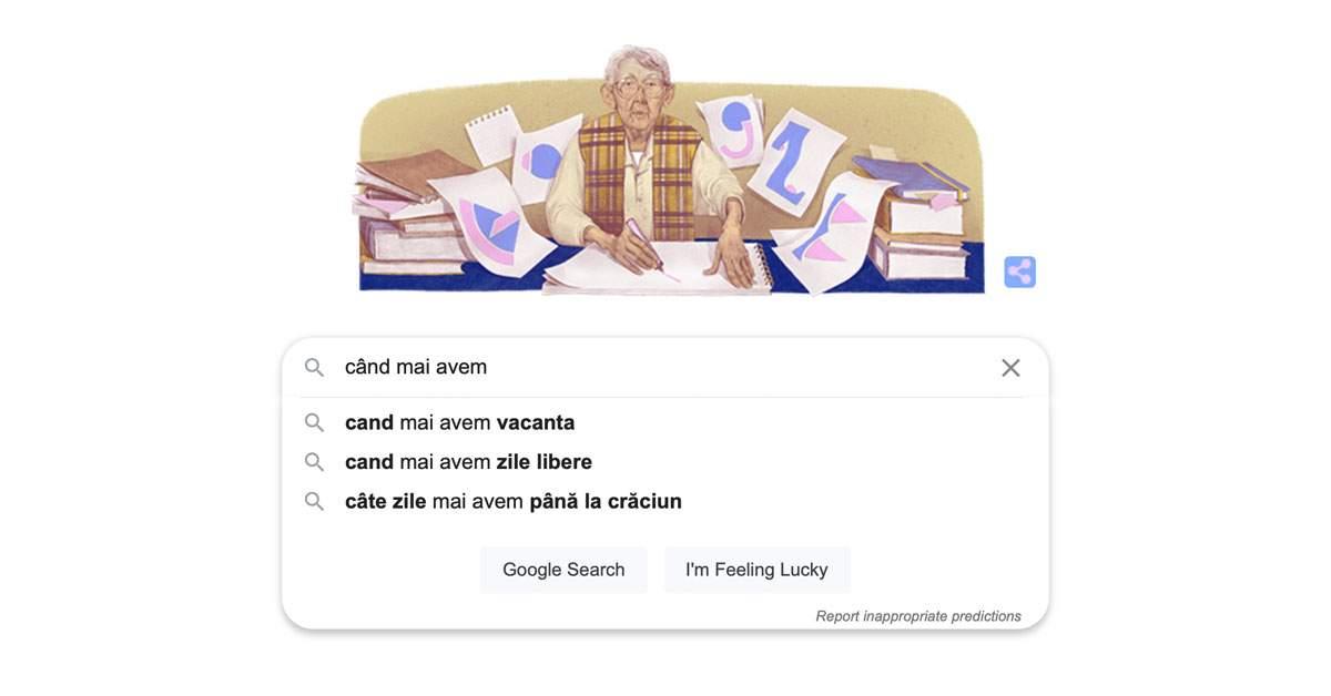 """Ce caută azi românii pe Google: """"Când mai avem liber"""""""