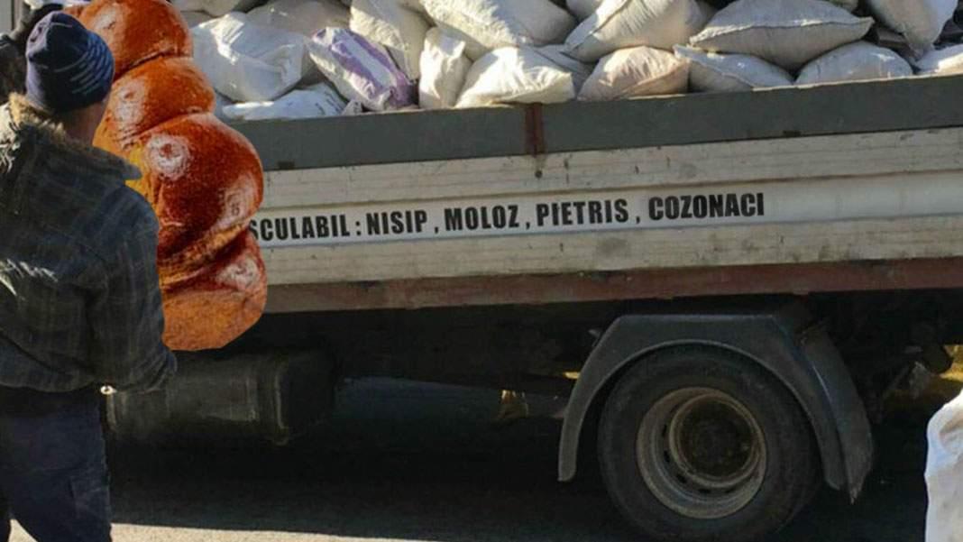 Firmele care cară moloz s-au reprofilat și cară cozonaci la groapa de gunoi