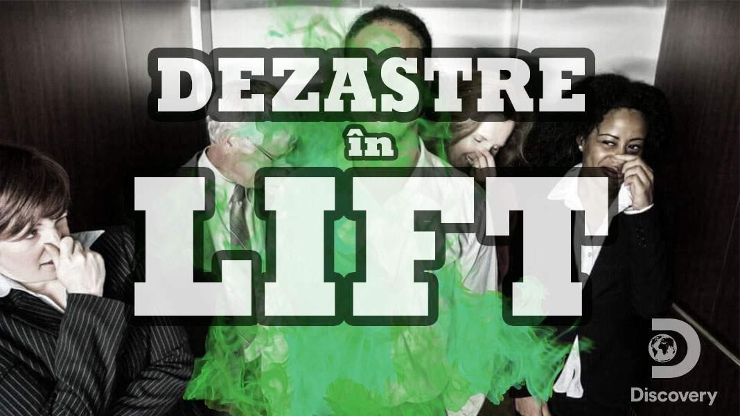 Discovery anunță emisiunea Dezastre în Lift, cu cele mai grave bășini din istorie