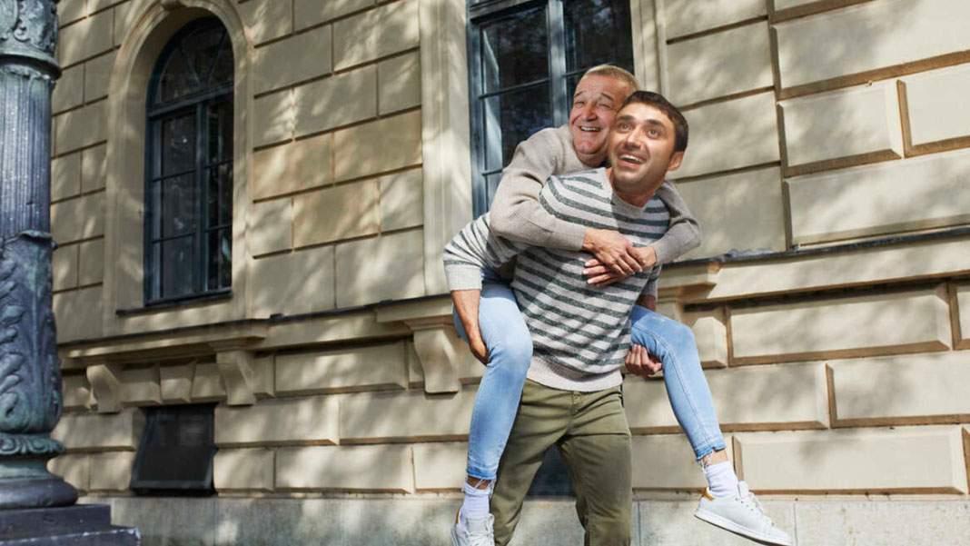 Pentru că Gigi Becali a rămas fără permis, Luțu îl va căra în spate trei luni