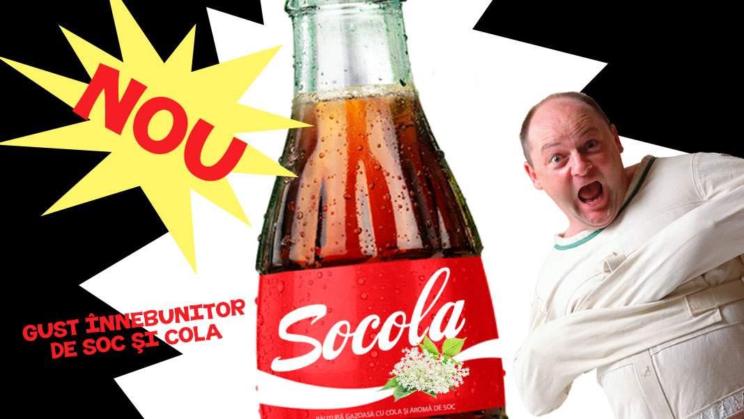Ăștia-s nebuni? S-a lansat socata cu aromă de cola, Socola!