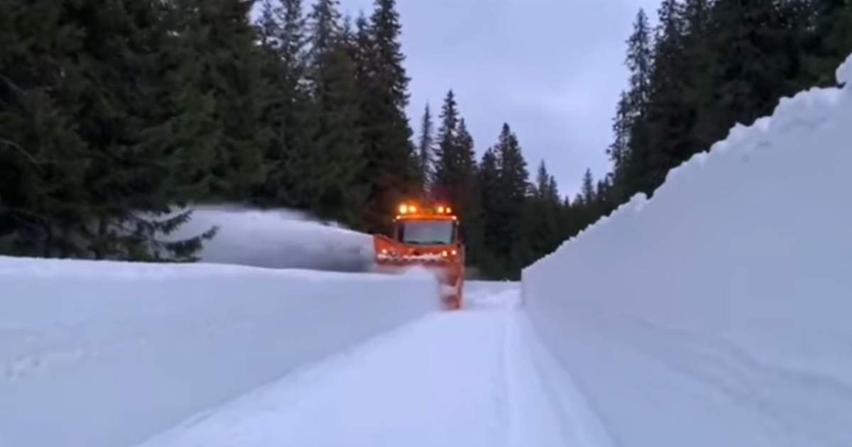 Jaful secolului? Au dat zăpada la o parte şi n-au mai găsit Transfăgărăşanul