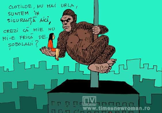 King Kong in sectorul 1