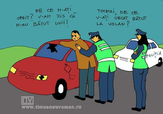 Șofer periculos