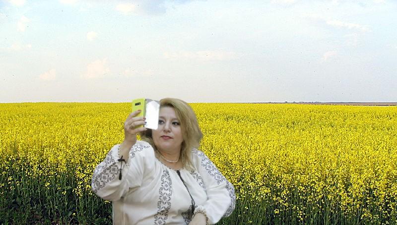 2 hectare de rapiță puse la pământ după ce Șoșoacă s-a tăvălit pentru un selfie