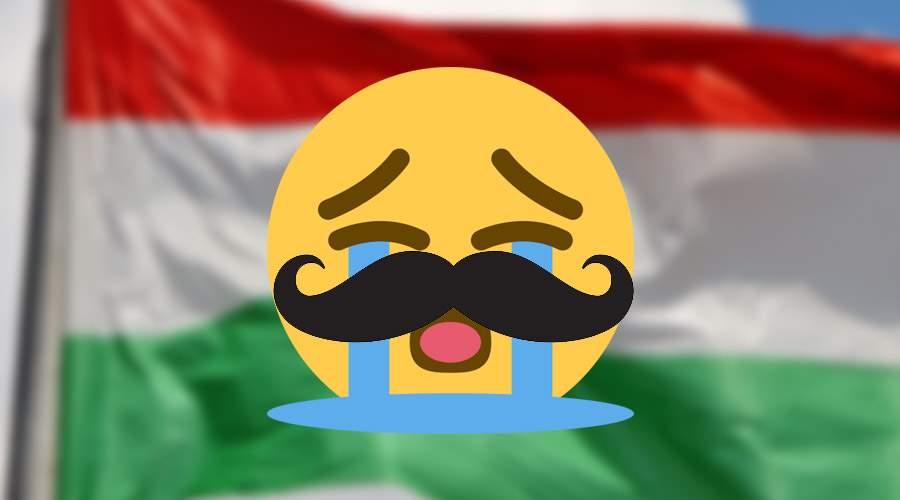 În cinstea Trianonului, emoticonul care plânge va avea azi mustăți ungurești