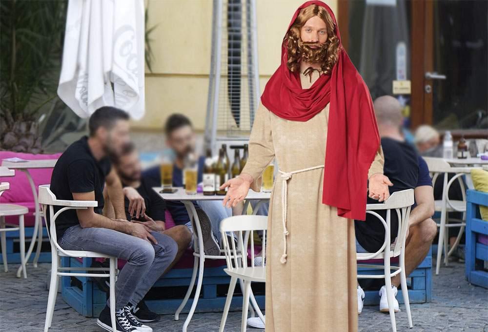 E Înălţarea. Isus s-a ridicat şi s-a dus după chelner, că nu mai venea cu berea