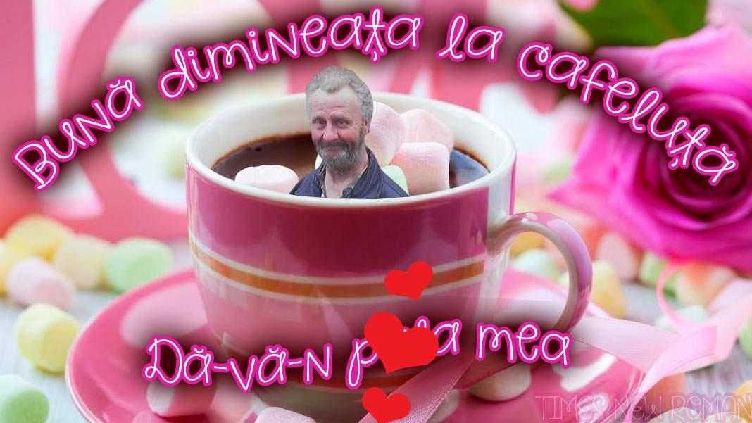 """Nea Costel, drojdier: """"Bună dimineața la cafeluță, dă-vă-n p… mea!"""""""
