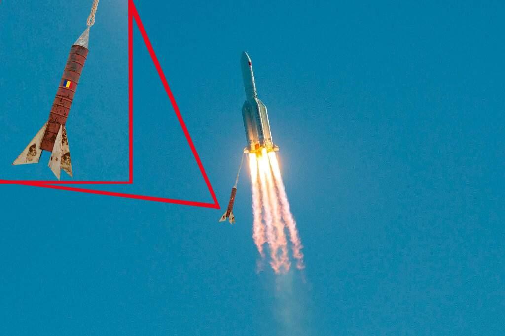 Prima rachetă românească în spațiu: am legat-o cu sfoară de cea a chinezilor!