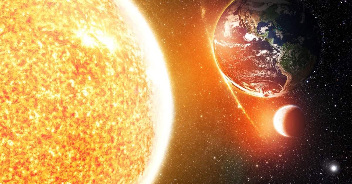 Când se opresc ploile? Peste 7,5 miliarde de ani, când Soarele va înghiți Pământul