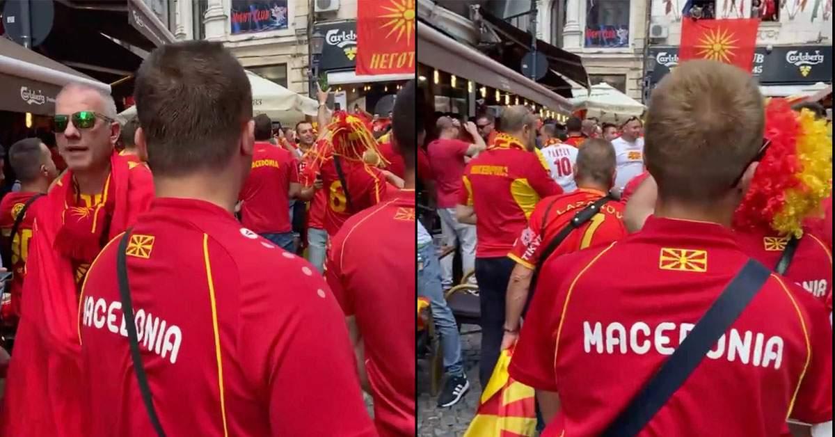 Suporterii macedoneni au sărit la bătaie când au aflat cât costă berea în Centrul Vechi