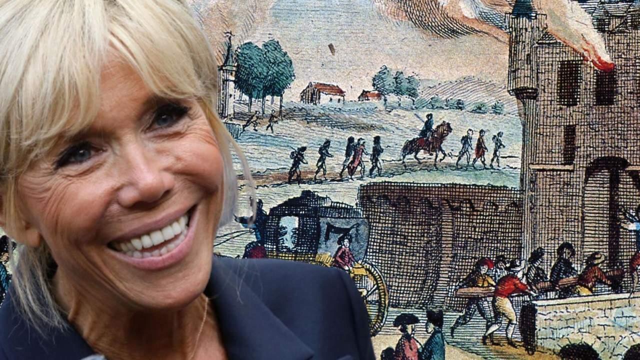 Ziua Franței. Brigitte Macron rememorează spaima trăită la căderea Bastiliei, în 1789