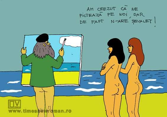 Pictor la nudiști