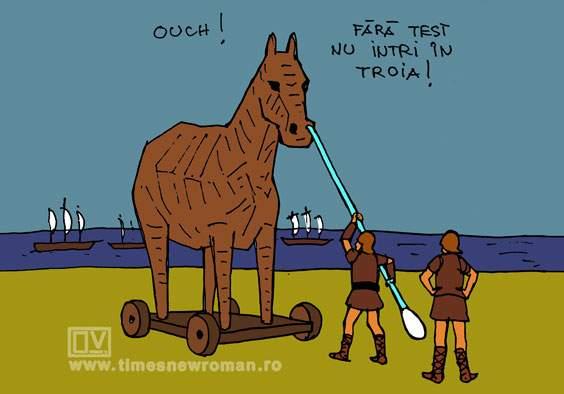 Test în Troia