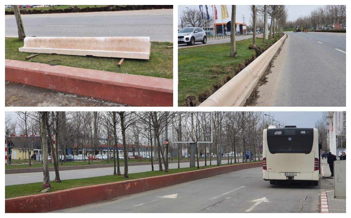 5 sectoare din Bucureşti, luate de vânt. Sectorul 3, salvat de greutatea bordurilor
