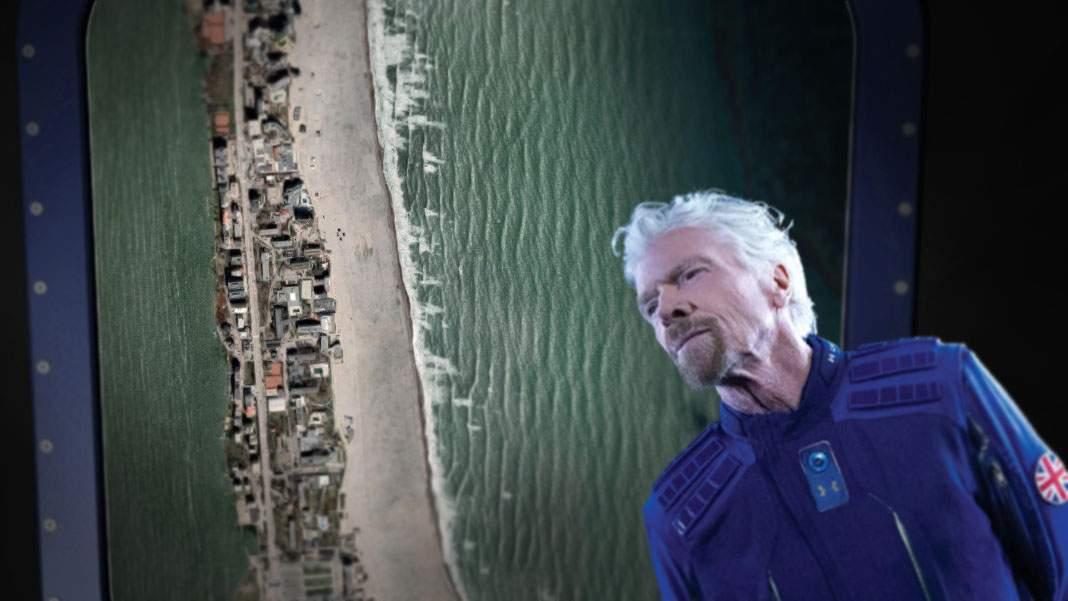Branson, despre cum se vede Terra din spaţiu: Mamă, ce lată e plaja din Mamaia!