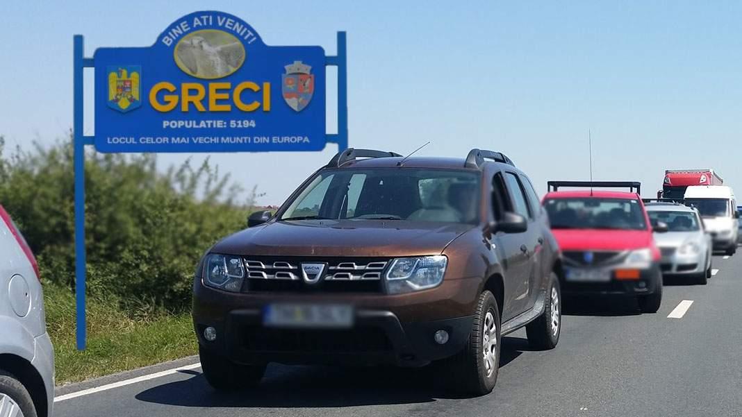 """Mii de turişti în comuna tulceană Greci după ce i-au zis GPS-ului """"Du-mă la greci"""""""
