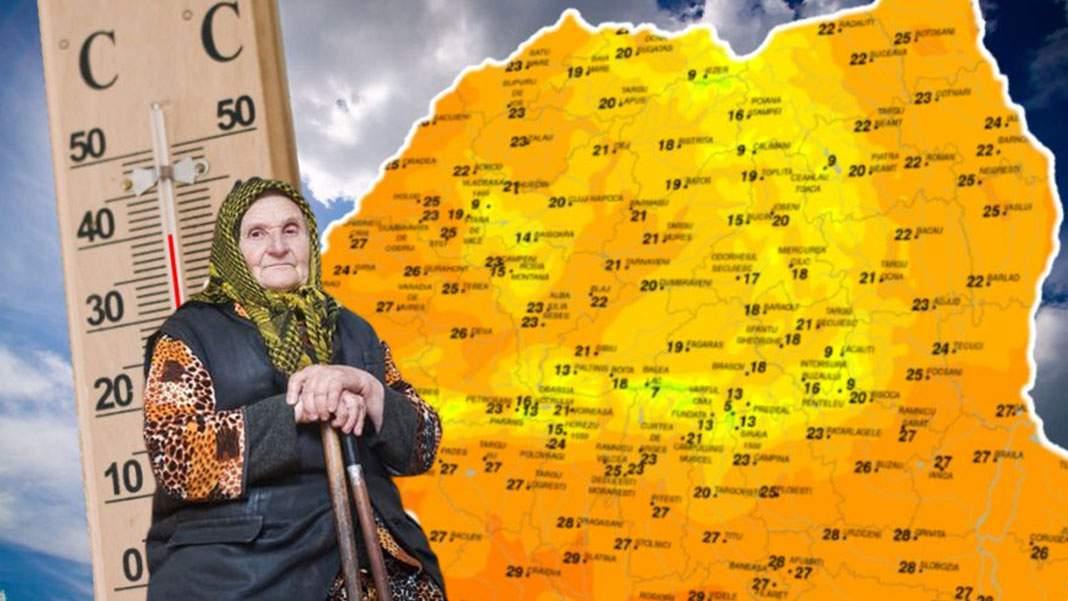 Meteorologii anunță că vom avea 4 zile cu cod roșu de ferească Dumnezeu